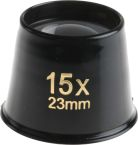 Product image for Bi-aspheric eye magnifier,15X