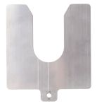 Product image for Precut s/steel shim stock,125x125x1mm