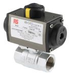 Product image for 1in. BSP Brass B/Valve w/ SR Actuator