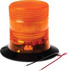 Product image for LED Beacon, Amber, 3 Point, 10-30Vdc
