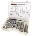 Product image for Steel Wormdrive Hose Clip Kit, 70 pieces