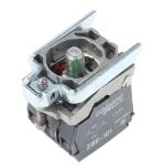 Product image for 1NO 1NC green LED body,230-240Vac/dc