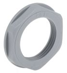 Product image for Locknut, nylon, grey, PG16, IP68