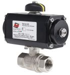 Product image for Pneumatic Actuator w/Ball Valve 3/4 Inch