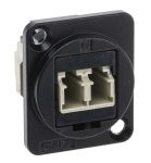 Product image for FT BLK METAL LC DUPLEX MM CSK XLR