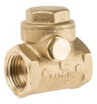 Product image for Brass swing check valve,1/2in BSP F