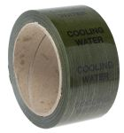 Product image for Pipe marking tape 'COOLING WATER',50mm