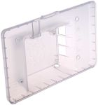 Product image for Raspberry Pi Touchscreen Case - Clear