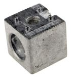 Product image for 40MM 3 PROFILE CUBIC CONNECTOR W/COVER