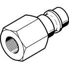 Product image for KS4-1/4-I quick coupling plug
