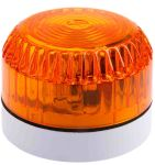 Product image for Fulleon Solex Amber Xenon Beacon, 9 → 60 V dc, Flashing, Surface Mount