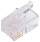 Product image for 4/4 FLAT SOLID/STRD WIRE DATA PLUG,1.5A