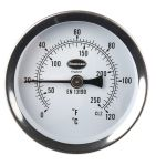 Product image for Clip on pipe thermometer,0 to +120deg C