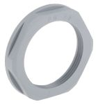 Product image for Locknut, nylon, grey, PG29, IP68