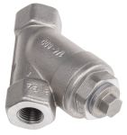 Product image for S/steel Y strainer valve,1/4in BSPP F-F