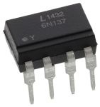 Product image for HS OPTOCOUPLER, 1-CHANNEL DIP8 24%CTR