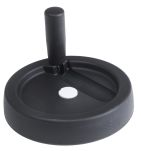 Product image for Handwheel w/recess top fold handle,125mm