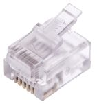 Product image for Modular Plug Short Body 6/6 RJ11 loose