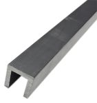 Product image for HE9TF Al channel stock,1/2x1/2in 1/8in