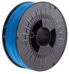 Product image for RS Pro Blue PLA 1.75mm filament 2.3kg
