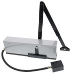 Product image for Briton Silver Fire Door Suitable Door Closer
