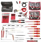 Product image for Facom 100 Piece Electronics Tool Kit with Case