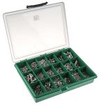 Product image for A4 S/S cross recess pan/csk screw kit