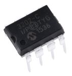 Product image for 12-bit ADC,SPI,dual channel,MCP3202-CI/P