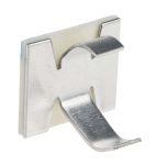 Product image for Aluminium self adhesive clip, 9.5mm dia