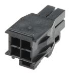 Product image for Molex, Nano-Fit Female Connector Housing, 2.5mm Pitch, 4 Way, 2 Row