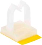 Product image for Adhesive base microwire saddle,11.8x13mm