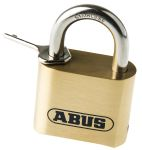 Product image for ABUS 180IB/50C All Weather Brass, Stainless Steel Weatherproof Padlock 53mm