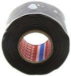 Product image for Tesa 4600 Black Self Amalgamating Tape 25mm x 3m