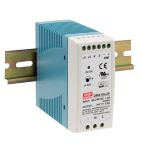 Product image for 60W DIN Rail Panel Mount PSU 24Vdc 2.5A