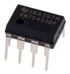 Product image for DUAL PERIPHERAL DRIVER,SN75451BP DIP8