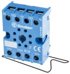 Product image for 60.12 8-pin socket with screw terminals