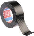 Product image for Fabric backed black duct tape,50m L