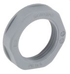 Product image for Locknut, nylon, grey, PG13.5, IP68