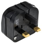 Product image for EURO POWER SUPPLY CONVERTER MAINS PLUG