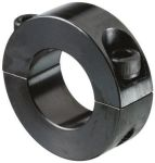 Product image for MILD STEEL 2PIECE CLAMP COLLAR,22MM BORE