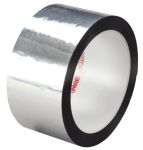 Product image for Polyester film tape 850 silver 25mmx66m