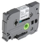 Product image for Brother Black on White Label Printer Tape, 6 mm Width, 8 m Length