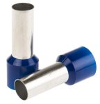 Product image for Blue insulated bootlace ferrule,50mmsq.