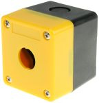 Product image for Control box for E-stop switch,1 hole