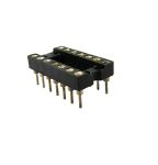 Product image for 14 way turned pin DIL socket,0.3in pitch