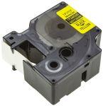 Product image for RHINO TAPE NYLON FLEX.24MM BLACK/YELLOW
