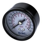 "Product image for Pressure gauge 50mm x 1/4"""" backmount"