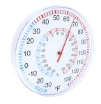 Product image for Wallmount analogue thermometer,30cm/12in
