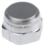 Product image for 1in BSPP ZnPt steel blanking cap