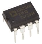 Product image for Instrumentation amplifier,AD620AN DIP8